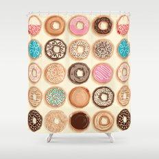 Doughnuts Shower Curtain
