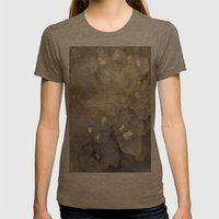 crystal2 Womens Fitted Tee Tri-Coffee SMALL