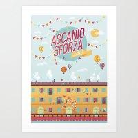Ascanio Sforza 11 Art Print
