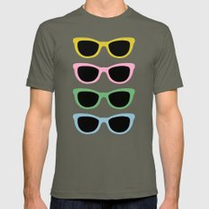 Sunglasses #4 Mens Fitted Tee Lieutenant SMALL