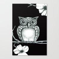 Fictional Owl Canvas Print
