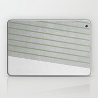 Concrete & Stripes II Laptop & iPad Skin
