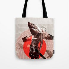 Shark Lady · Honey, what do you do for money? Tote Bag