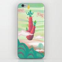 Carrot King iPhone & iPod Skin