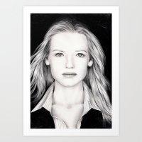 ANNA TORV - OLIVIA DUNHAM Art Print