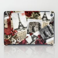 Postcards From Paris iPad Case