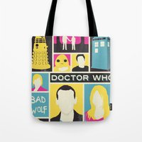 Doctor Who - The Ninth D… Tote Bag