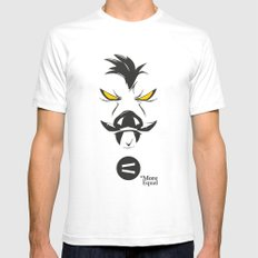 Feral SMALL White Mens Fitted Tee