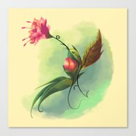 Essence Of Nature - Humm… Canvas Print