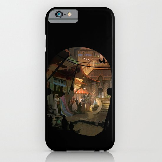 canyon city in the clouds iPhone & iPod Case