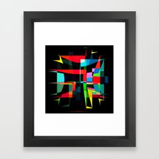 pinched two Framed Art Print