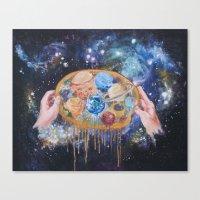 My Creative Space Canvas Print