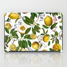 LEMON TREE White iPad Case