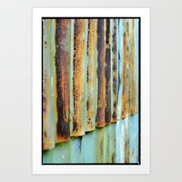 In Repetition  Art Print