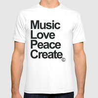 MLPC White Mens Fitted Tee White SMALL