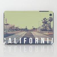 California On The Tracks iPad Case