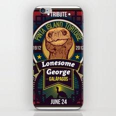 Lonesome George iPhone & iPod Skin