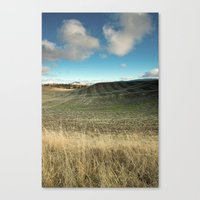 The End of the Harvest Canvas Print