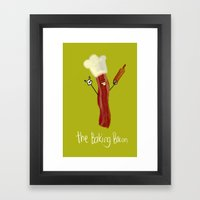 The Baking Bacon Framed Art Print