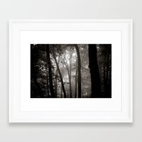 Forrest VIII. Framed Art Print