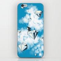 Like A Diamond In The Sk… iPhone & iPod Skin