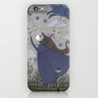 iPhone & iPod Case featuring Violetta Dreaming by Judith Clay