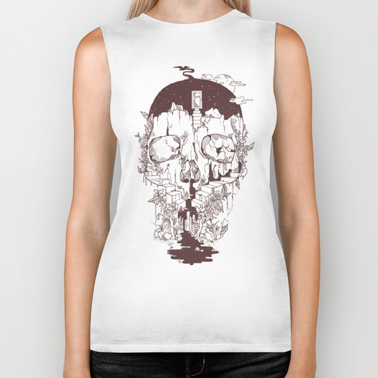 Inside My Head 2.0 Biker Tank