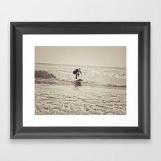Soul Surfer Framed Art Print