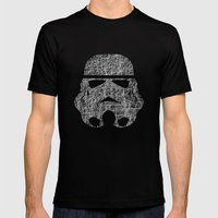 Lines Of Trooper Mens Fitted Tee Black SMALL