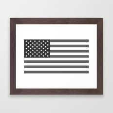 National Flag Of The USA… Framed Art Print
