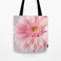 Pretty Pastel Gerbera  Tote Bag