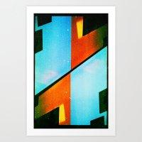 #5 (35mm Multiple Exposu… Art Print