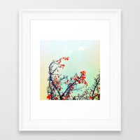 Hearts A Mess Framed Art Print