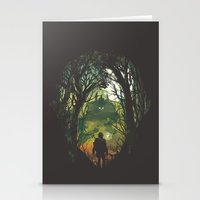 It's Dangerous To Go Alo… Stationery Cards