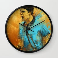 Roger Federer Wall Clock