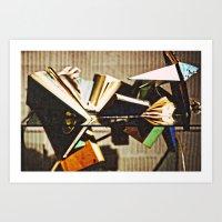 Broken Books  Art Print