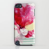iPod Touch Cases featuring Bright Pink - Part 2  by Jenny Liz Rome