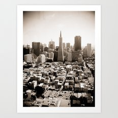 The View from Coit Art Print