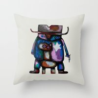 Sheriff Throw Pillow