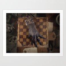 The Monkey's Paw Art Print
