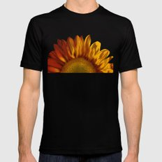 A Sunflower SMALL Mens Fitted Tee Black