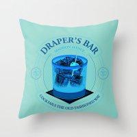 Draper's Bar Throw Pillow