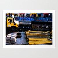 Playmobil 2 Art Print