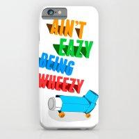 Asthmatic skateboarders unite iPhone 6 Slim Case