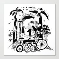 California Kidz Canvas Print