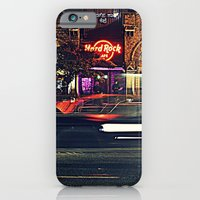 iPhone & iPod Case featuring Hard Rock Cafe by Gafoor