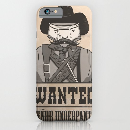 WANTED: SENOR UNDERPANTS iPhone & iPod Case