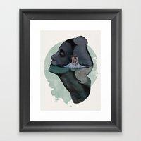 Maya Plisetskaya Swan La… Framed Art Print