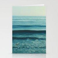 beach waves. Somewhere  Stationery Cards