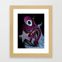 Vampire Life Framed Art Print